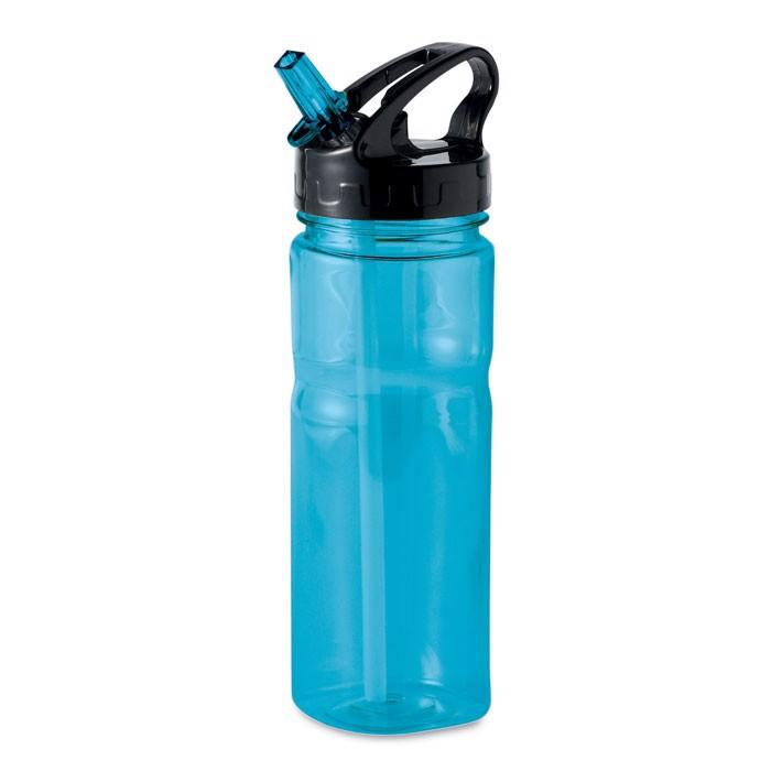 500 ml PCTG bottle Nina - Transparent Blue