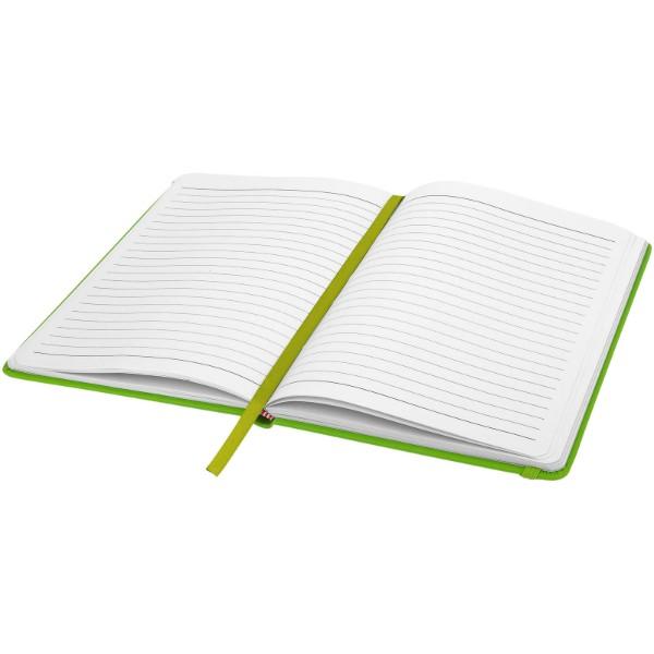 Notes A5 Spectrum w twardej okładce - Zielony limonkowowy