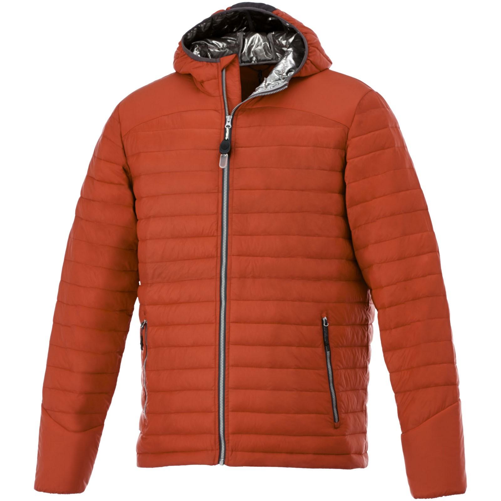 Silverton men's insulated packable jacket - Orange / L