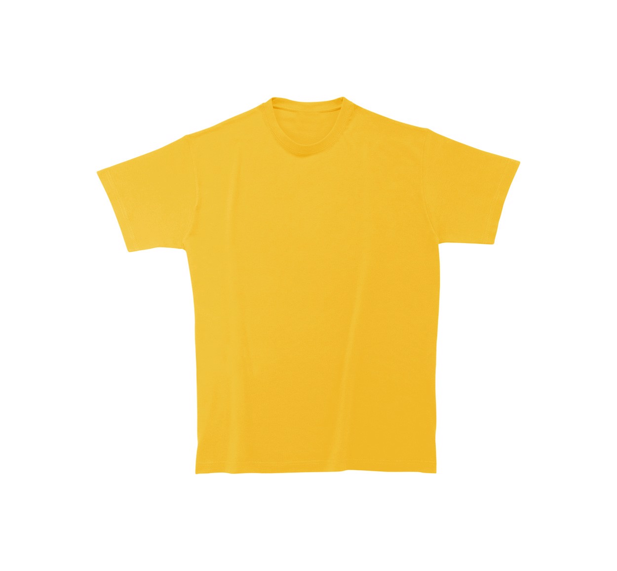 T-Shirt Heavy Cotton - Yellow / XL