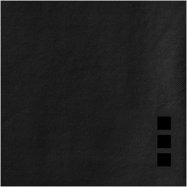 Markham short sleeve men's stretch polo - Anthracite / 3XL