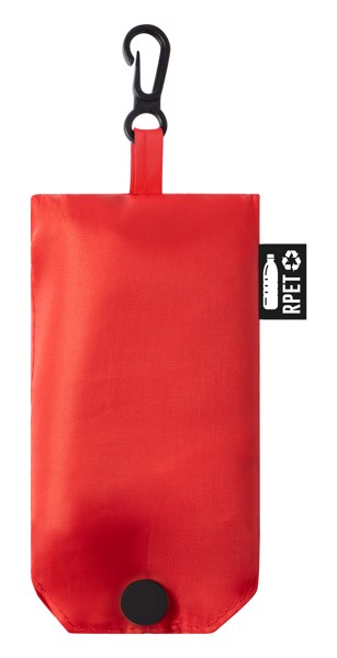 Foldable Shopping Bag Restun - Red