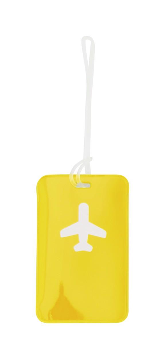 Visačka Na Zavazadla Raner - Žlutá