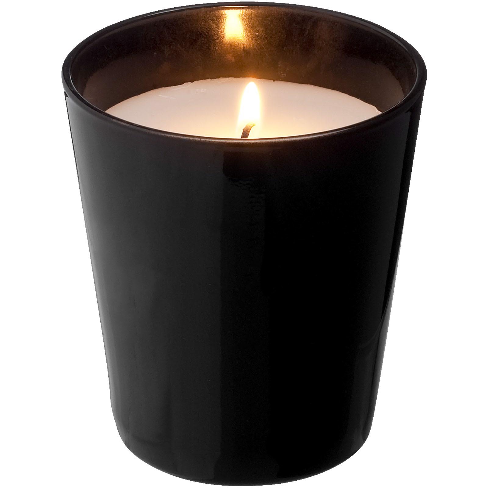 Lunar scented candle - Solid black
