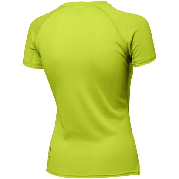 Dámské triko Serve s krátkým rukávem, s povrchovou úpravou - Apple Green / XL