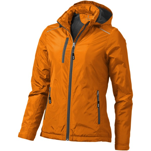 Smithers fleece lined ladies jacket - Orange / XXL