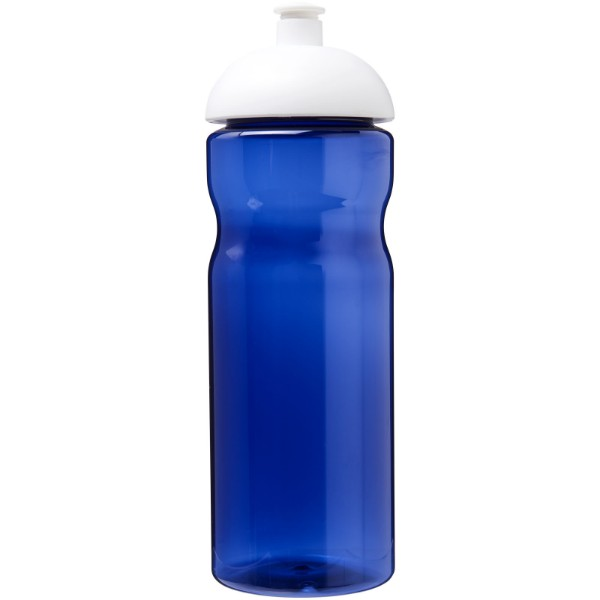 H2O Eco 650 ml dome lid sport bottle - Blue / White