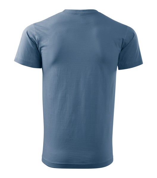 Tričko pánské Malfini Basic - Denim / XL
