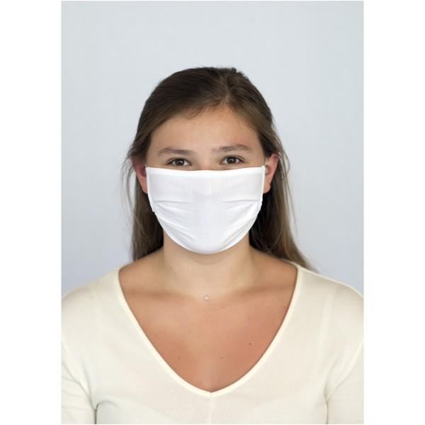 Calla GOTS organic face mask - White