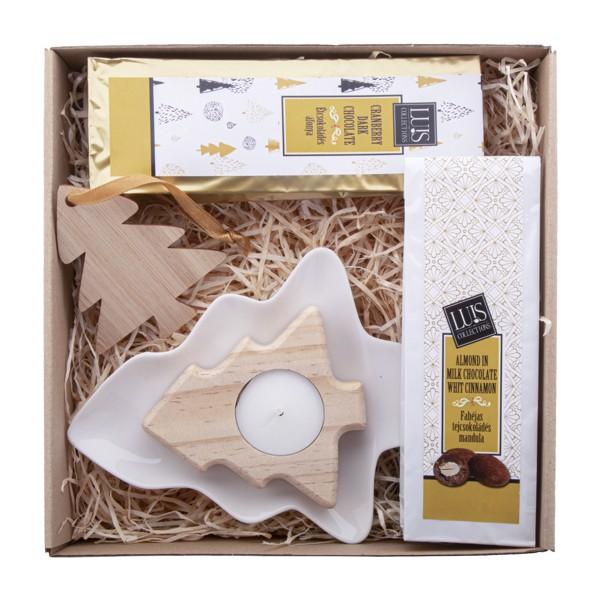 Chocolate Gift Set Kerti - Natural