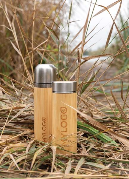 Bambusová nepropustná termo láhev