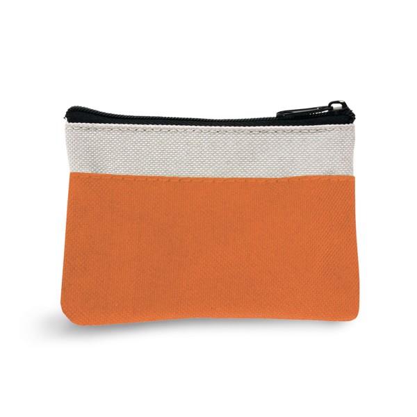 MILLER. Purse keyring - Orange