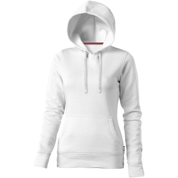 Alley hooded ladies sweater - White / S