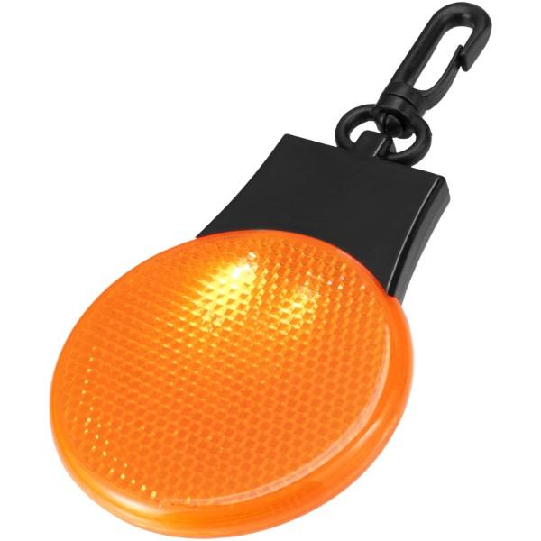 Odrazka a LED svítilna Blinki - 0ranžová