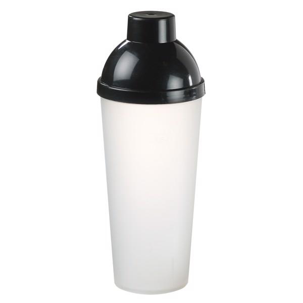 "Shaker ""Lagoon"" 0.5 L - Transparent-Milky / Black"