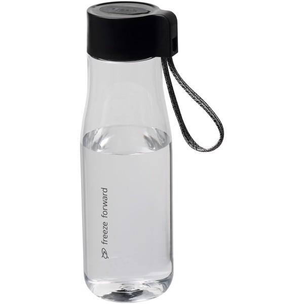 Ara 640 ml sportovní lahev z materiálu Tritan™ s nabíjecím kabelem - Průhledná Bezbarvá