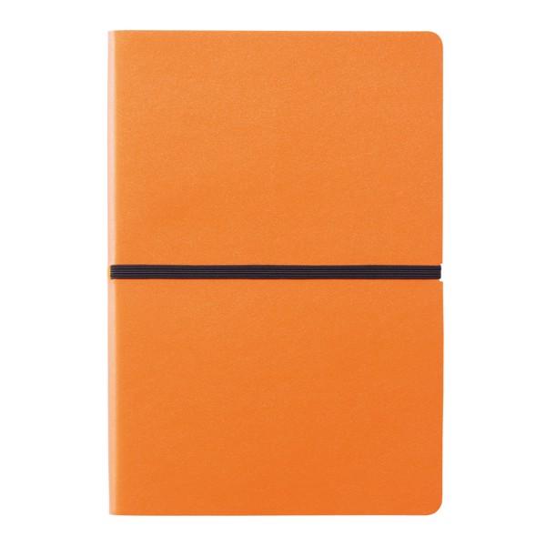 Deluxe puhafedelű A5-ös jegyzetfüzet - Narancs