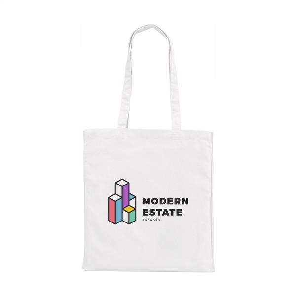Shoppy Colour Bag cotton bag - White