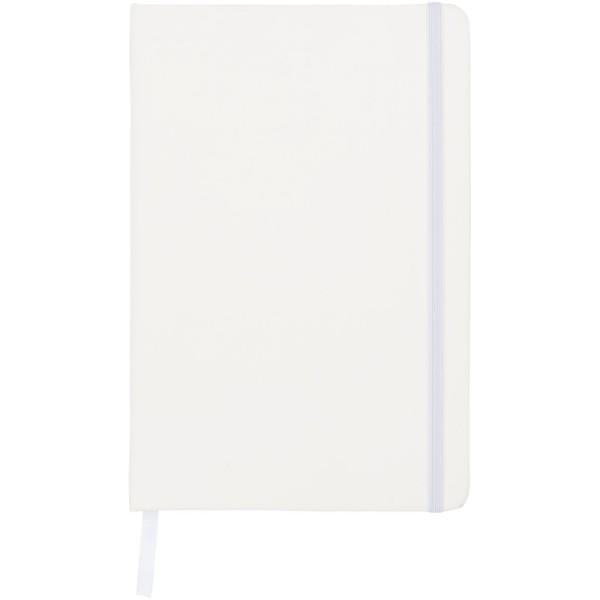 Zápisník A5 Spectrum – tečkované stránky - Bílá