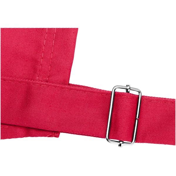Zástěra Zora s nastavitelným krčním popruhem - Červená s efektem námrazy