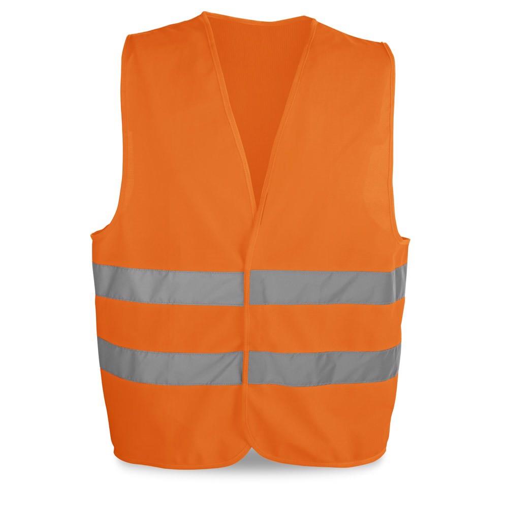 YELLOWSTONE. High visibility vest - Orange