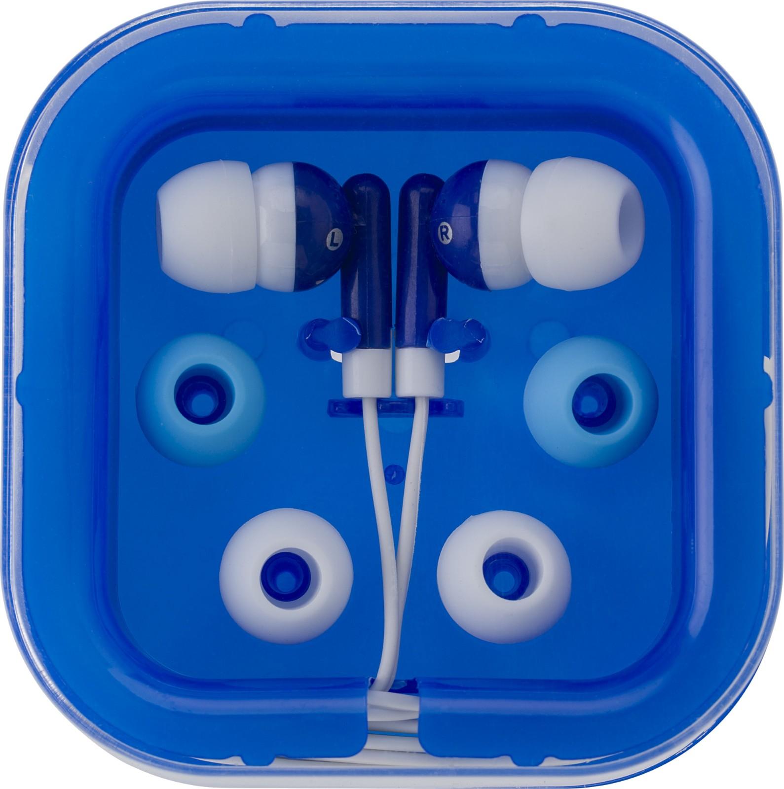 ABS earphones - Blue