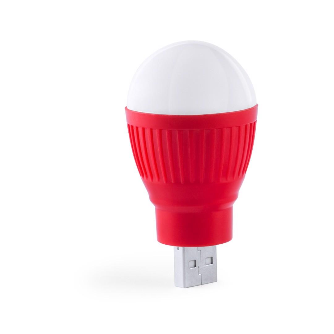Lámpara USB Kinser - Rojo