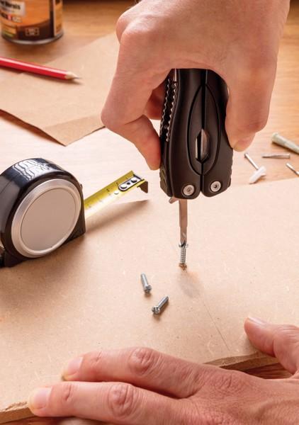 Multifunkční nůž Fix - Černá