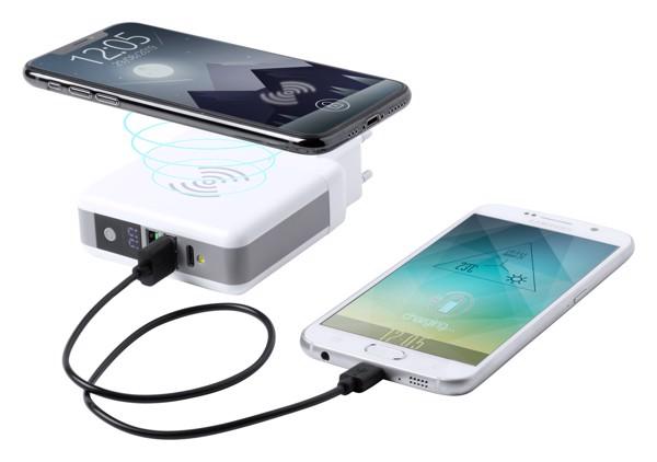 Travel Adapter Teimpor - White