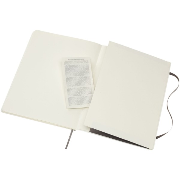 Classic XL soft cover notebook - ruled - Earth brown