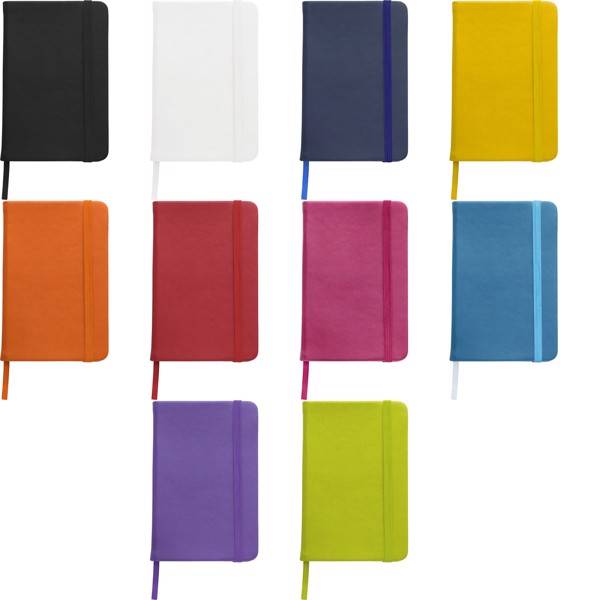 PU notebook - Black