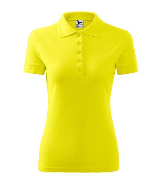 Polokošile dámská Malfini Pique Polo - Citronová / XS