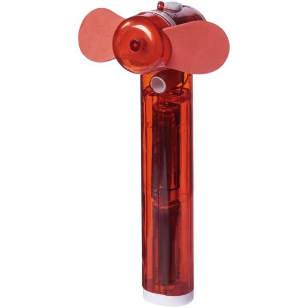 Kapesní vodní ventilátor Fiji - Červená s efektem námrazy