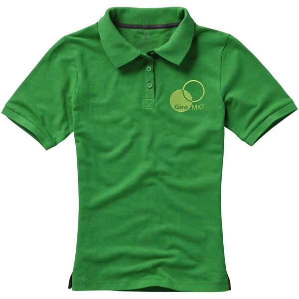 Calgary short sleeve women's polo - Fern green / L