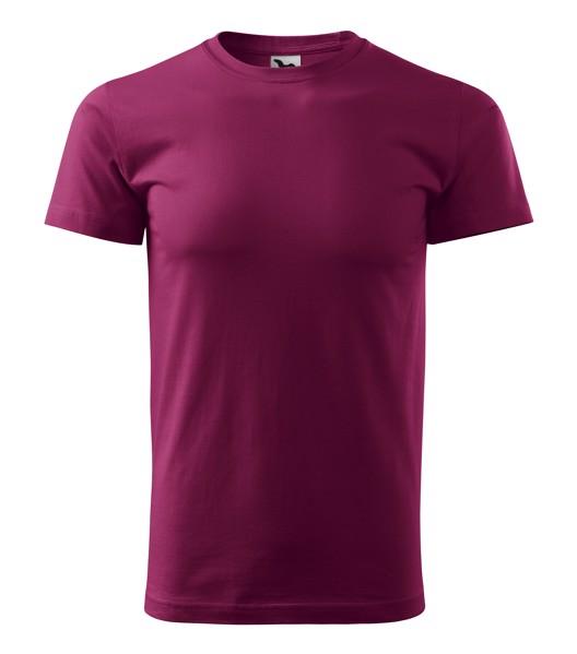 Tričko pánské Malfini Basic - Fuchsiová / XL