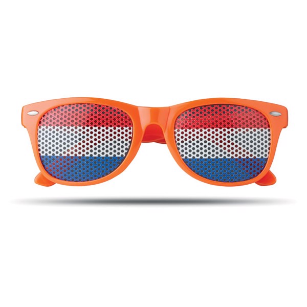 Sunglasses country Flag Fun - Orange
