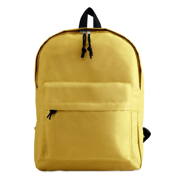 600D polyester backpack Bapal - Yellow