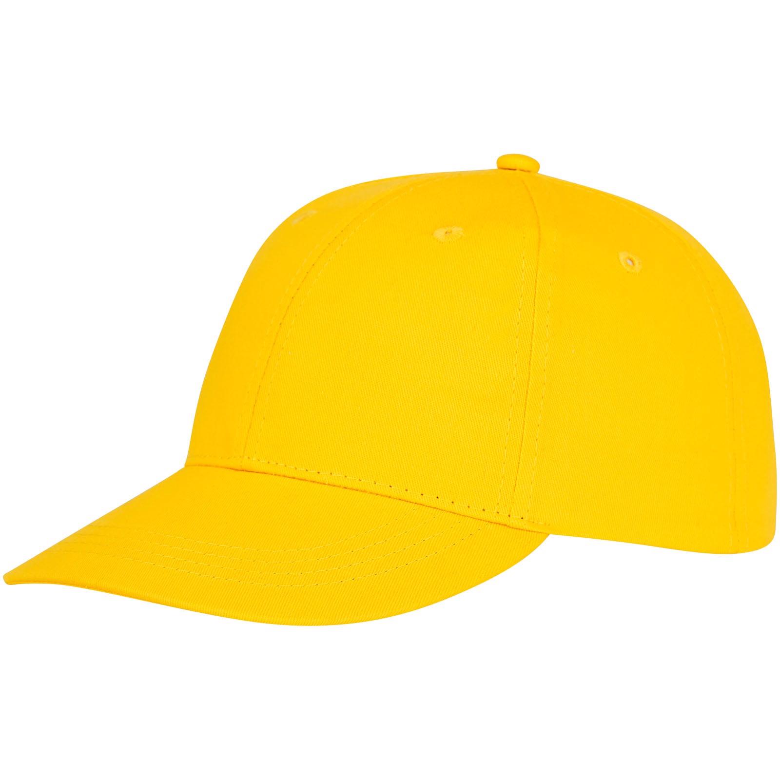 Ares 6 panel cap - Yellow