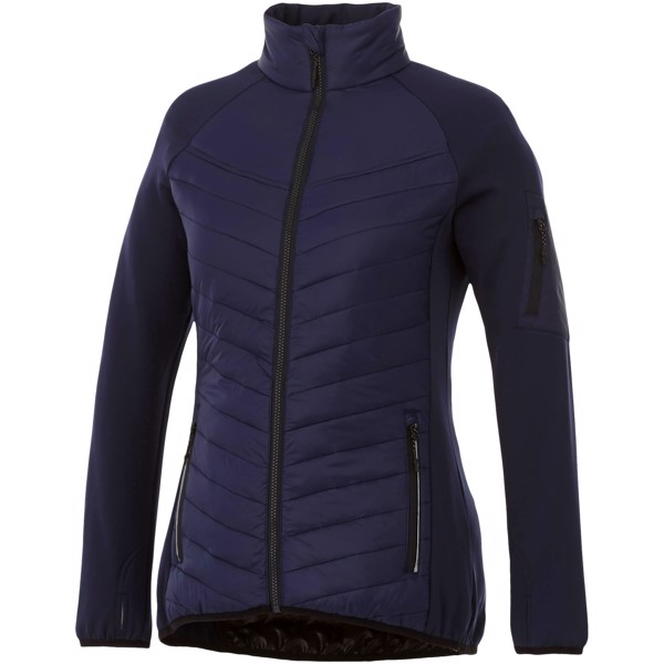 Banff hybrid insulated ladies jacket - Navy / XL
