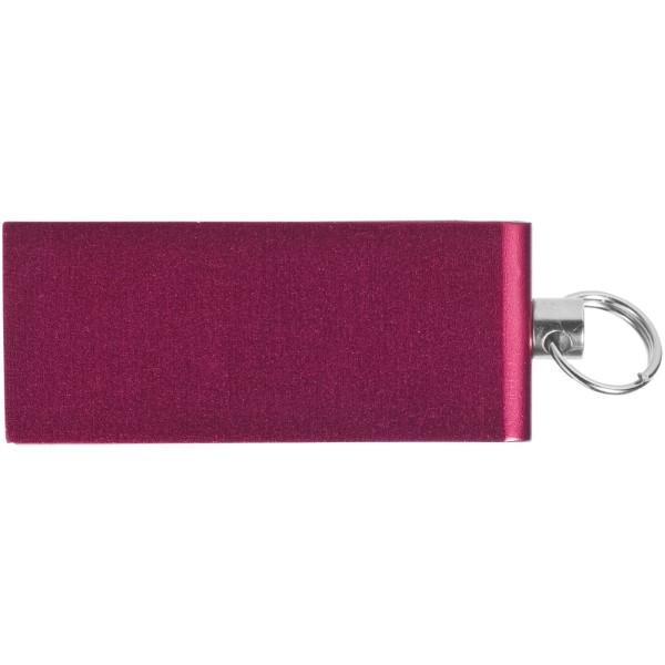 Mini Rotate USB - Červená s efektem námrazy / 32GB