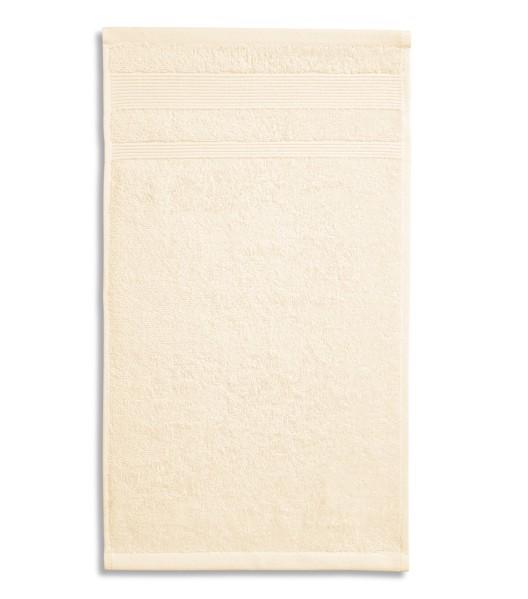 Osuška unisex Malfini Organic - Mandlová / 70 x 140 cm