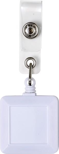 ABS name card holder - White