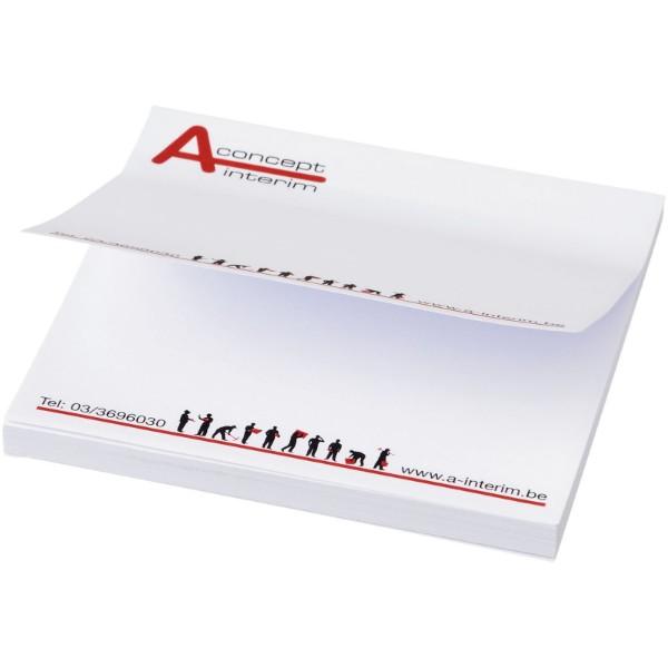 Samolepicí lístečky Sticky-Mate® 75x75mm - Bílá / 100 pages