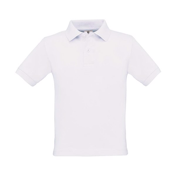 Kids Polo Shirt 180 g/m2 Safran Kids Polo Pk486 - White / XL