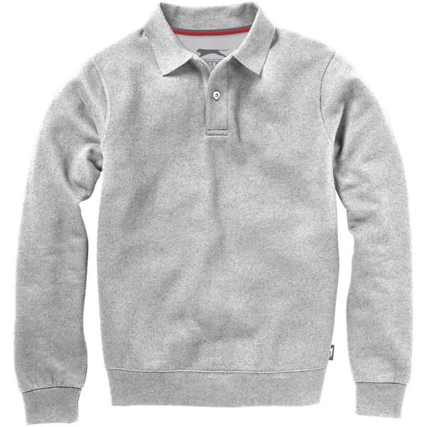 Referee polo sweater - Grey melange / M