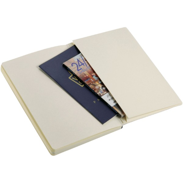 Classic A5 soft cover notebook - Solid black