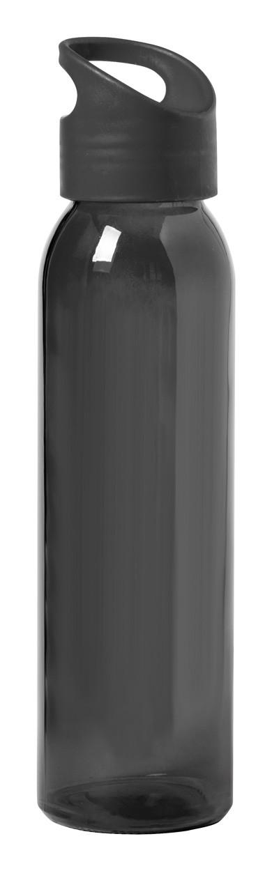 Glass Sport Bottle Tinof - Black