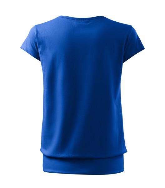 T-shirt Ladies Malfini City - Royal Blue / XL
