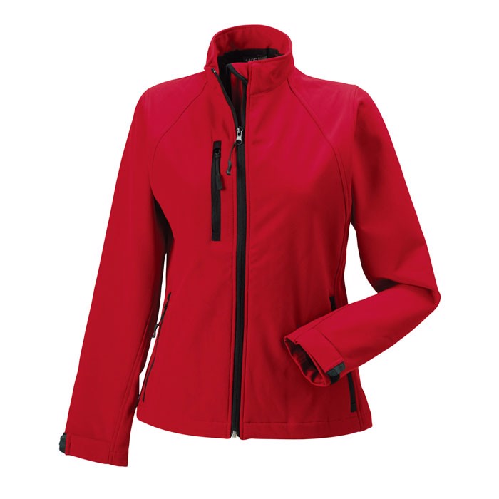 Ladies Softshell 340 g/m2 Ladies Soft Shell R-140F-0 - Classic Red / XXL