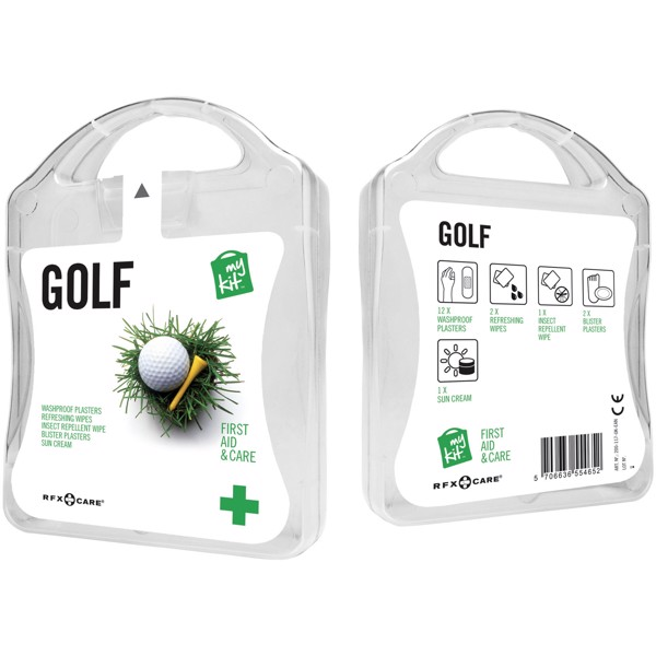 MyKit Golf First Aid - White